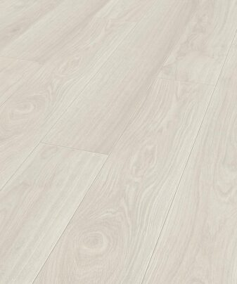 Laminat Kronotex Exquisit 2873 Waveless Oak White. Nærbilde.
