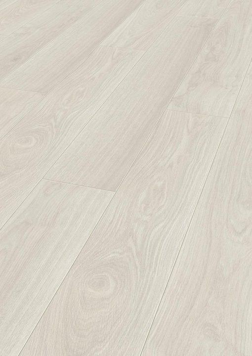 Laminat Kronotex Exquisit 2873 Waveless Oak White. Nærbilde.