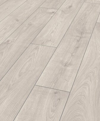 Laminat Kronotex Exquisit 3223 Atlas Oak White. Nærbilde.
