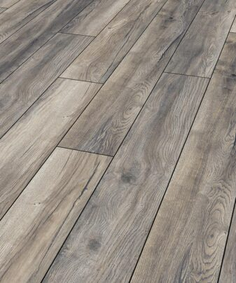 Laminat Kronotex Exquisit Plus 3572 Harbour Oak Grey. Nærbilde.