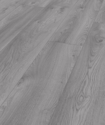 Laminat Kronotex Mammut Macro Oak Light Grey. Nærbilde.