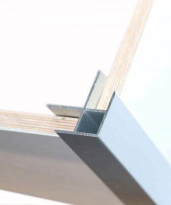Utvendig aluminium hjørnelist