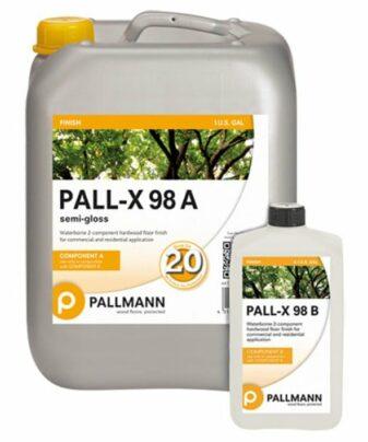 Pallmann Pall-X 98 2-komponent topplakk for tregulv
