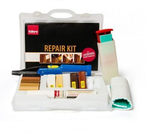 Reparasjonssett for lakkerte gulv