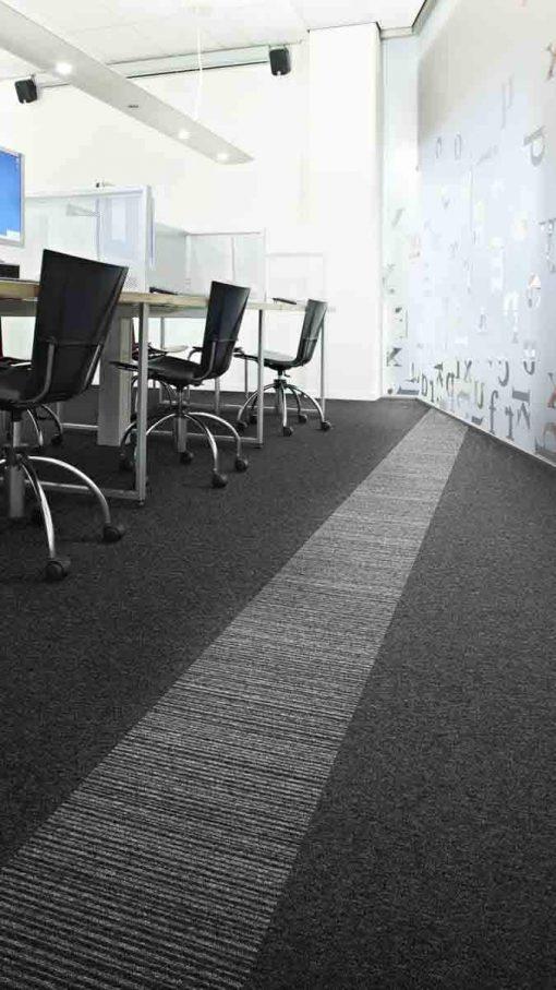 Desso Teppefliser Essence. Foto av teppefliser på kontor.