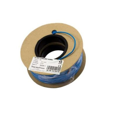 TF RKK 2-isolert kabel 1 5mm² 100m Blå T 5430408-tf-rkk-2-isolert kabel