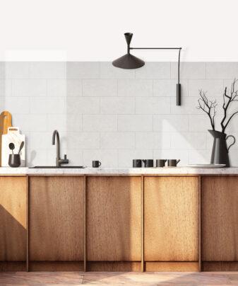 Kjøkkenplate BerryAlloc Kitchen Wall Sandstein Subway