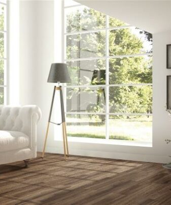 Korkgulv fra Wicanders Wood Resist Eco - Dark Onyx Oak